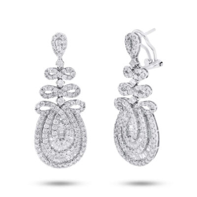 3.82ct 18k White Gold Diamond Earring SC37215031 400x400 - 3.82ct 18k White Gold Diamond Earring SC37215031