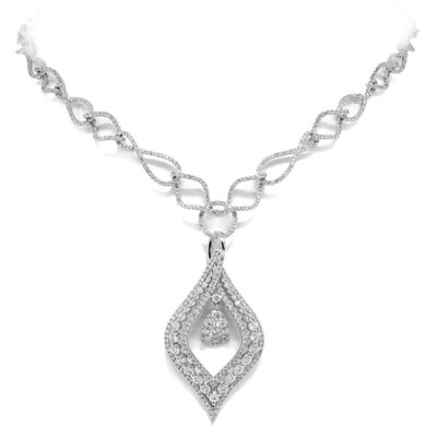 4.08ct 14k White Gold Diamond Necklace SC22002977 400x400 - 4.08ct 14k White Gold Diamond Necklace SC22002977