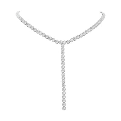 4.36ct 14k White Gold Diamond Lariat Necklace SC55004130 1 400x400 - 4.36ct 14k White Gold Diamond Lariat Necklace SC55004130