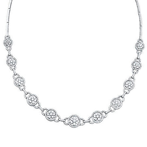 5.15ct 14k White Gold Diamond Necklace S44 1 500x500 - 5.15ct 14k White Gold Diamond Necklace S44-1