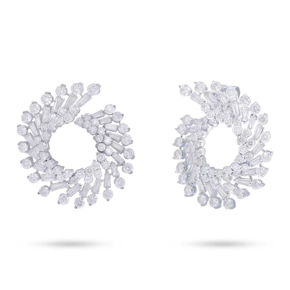 madyha more earrings hexagon gold diamond products baguette options