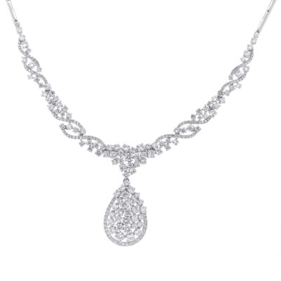 6.61ct 14k White Gold Diamond Necklace SC28023206 400x400 - 6.61ct 14k White Gold Diamond Necklace SC28023206