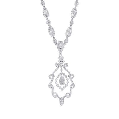 9.55ct 18k White Gold Diamond Necklace SC18014569 400x400 - 9.55ct 18k White Gold Diamond Necklace SC18014569